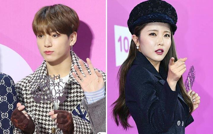 Jungkook Ketahuan Melongo Melihat Aksi Panggung Hong Jin Young