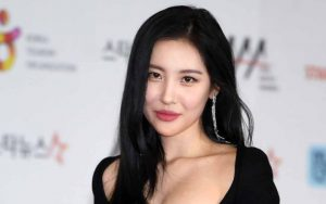 Red Carpet Asia Artist Awards 2018, Sunmi Tampil Dengan Pakaian Yang Super Seksi