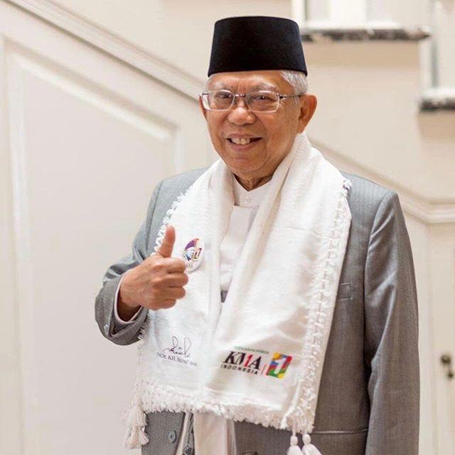 Jelang Pilpres 2019 , Ma'ruf Amin Sudah Siap Adu Visi