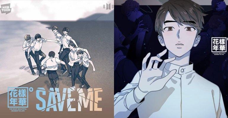 Big Hit Entertainment Kerja Sama Dengan Pihak Webtoon, Bangtan Boys Di Rilis Web Comic ' Save Me '